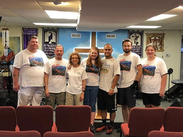 Group of missionaries at Son'Spot Ministries
